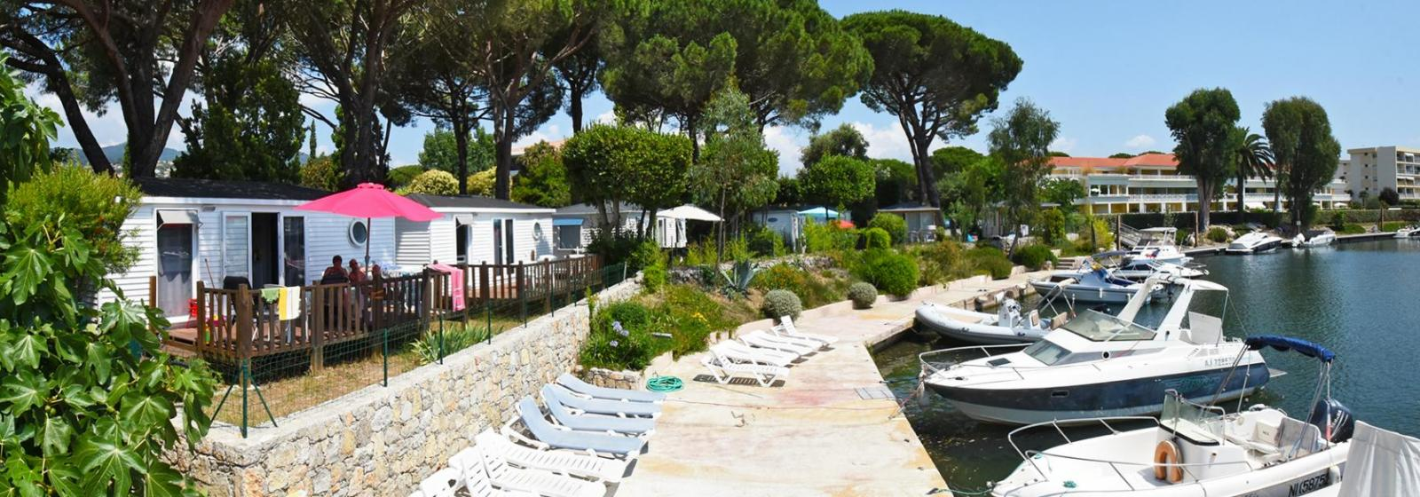 A mobile home rental in cannes